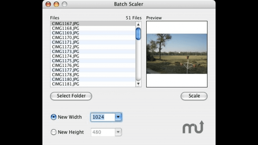Image Scaler for Mac - review, screenshots