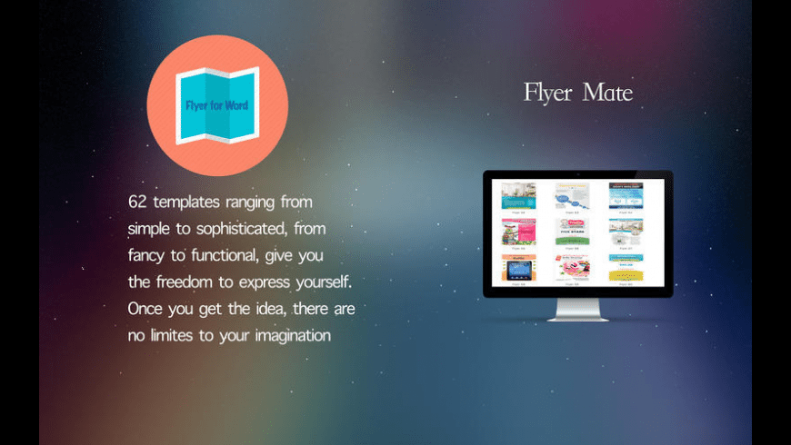 Flyer Mate for Mac - review, screenshots