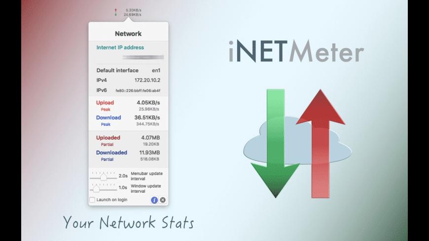 iNETMeter for Mac - review, screenshots