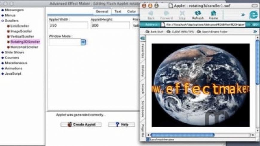 Advanced Effect Maker for Mac - review, screenshots
