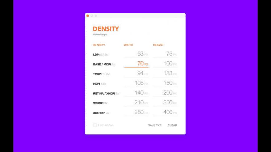Density for Mac - review, screenshots