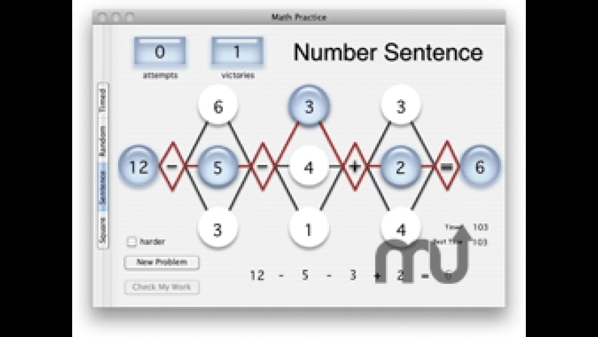 Math Practice for Mac - review, screenshots