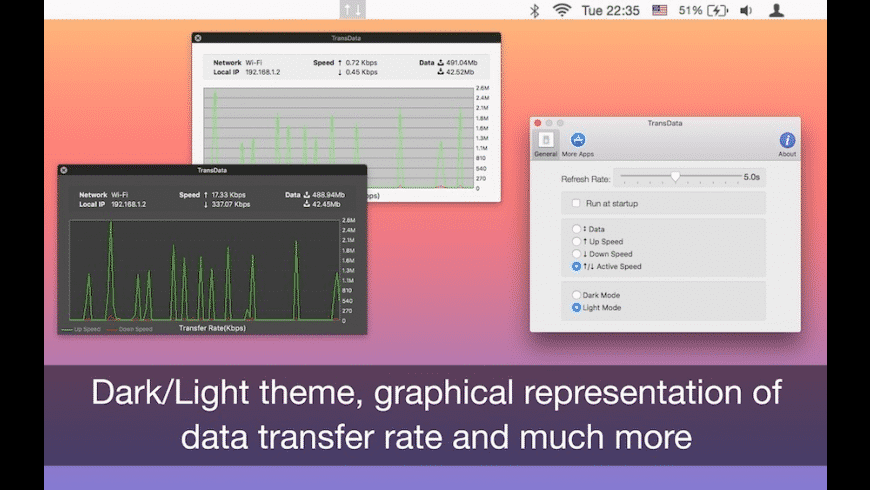 TransData for Mac - review, screenshots