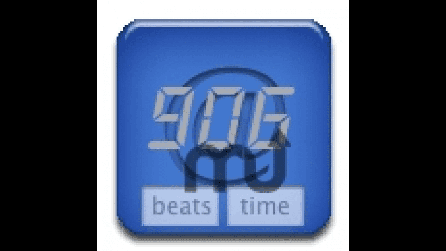 iBeatTime widget for Mac - review, screenshots