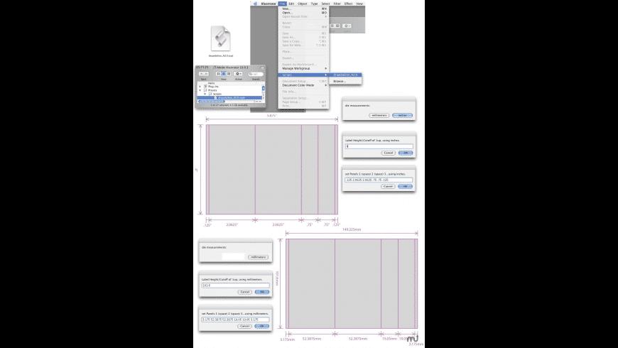 Draw Dieline CS for Mac - review, screenshots