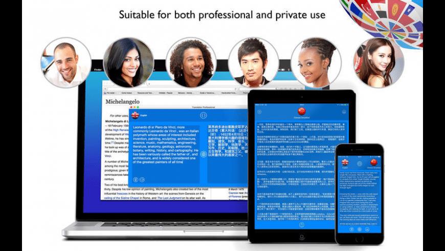 Translator Professional for Mac - review, screenshots