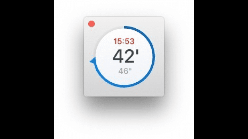 Timer for Mac - review, screenshots
