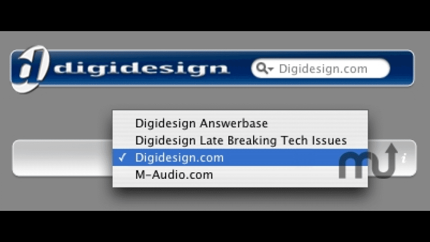 Digidesign Search for Mac - review, screenshots