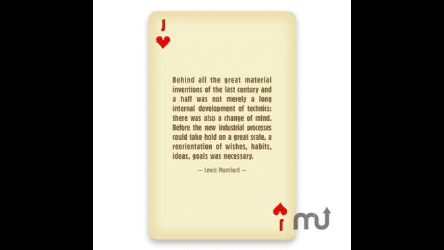 Maya Design Cards for Mac - review, screenshots
