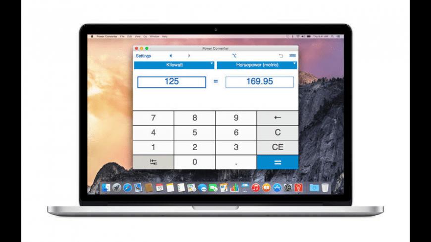 Power Converter for Mac - review, screenshots