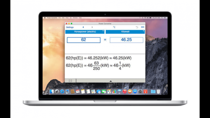 Power Converter for Mac - review, screenshots