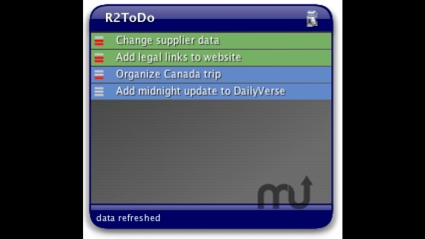 R2ToDo for Mac - review, screenshots