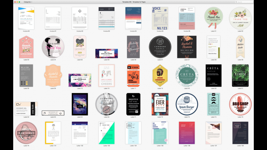 Bundle for Pages for Mac - review, screenshots