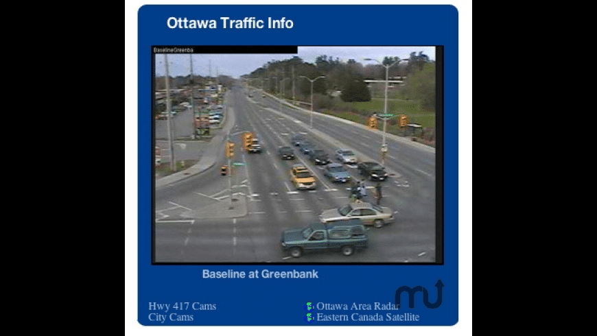 Ottawa Traffic Info for Mac - review, screenshots