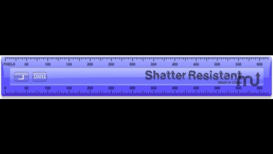 G-Ruler for Mac - review, screenshots