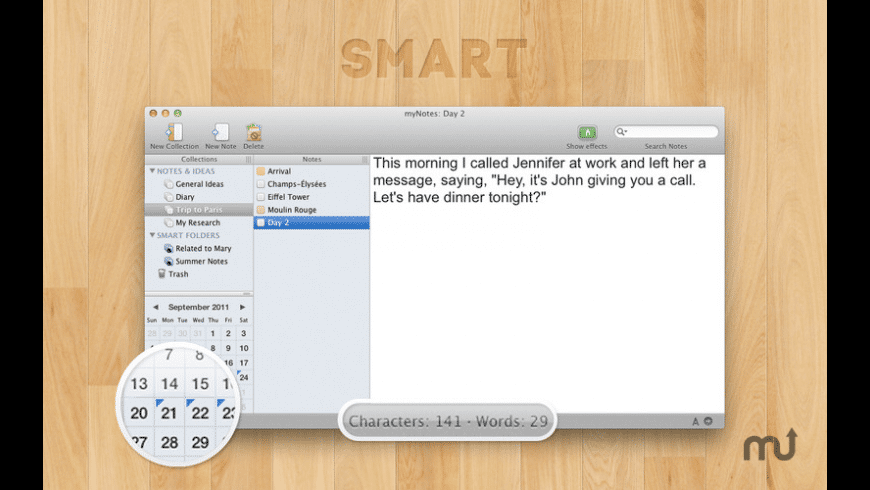 myNotes for Mac - review, screenshots
