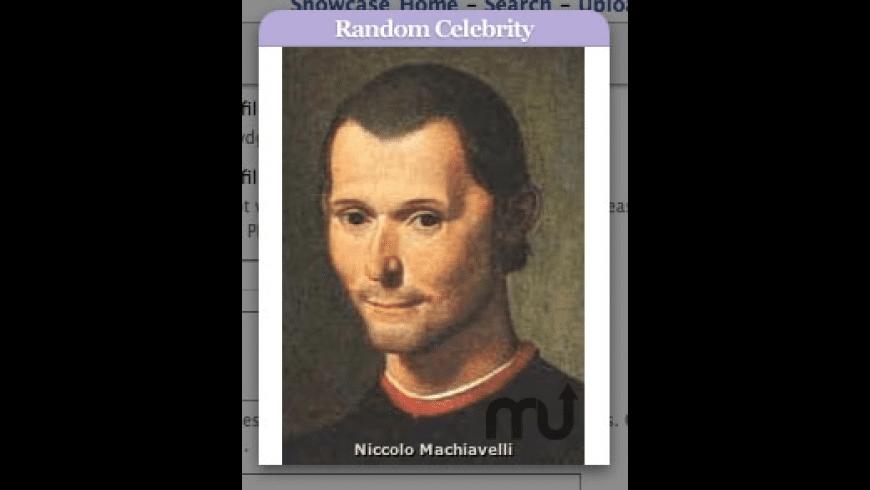 Random Celebrity for Mac - review, screenshots