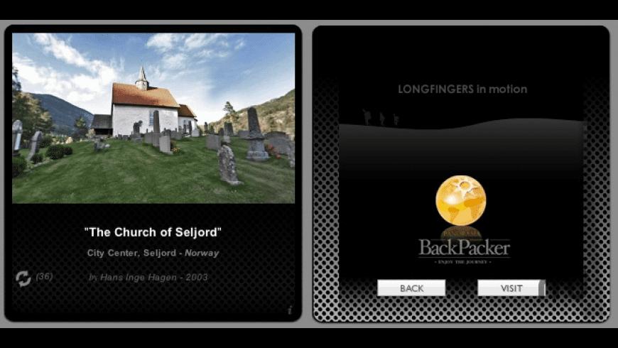 Panorama BackPacker Widget for Mac - review, screenshots