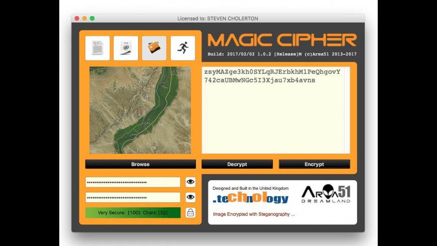 Magic Cipher for Mac - review, screenshots