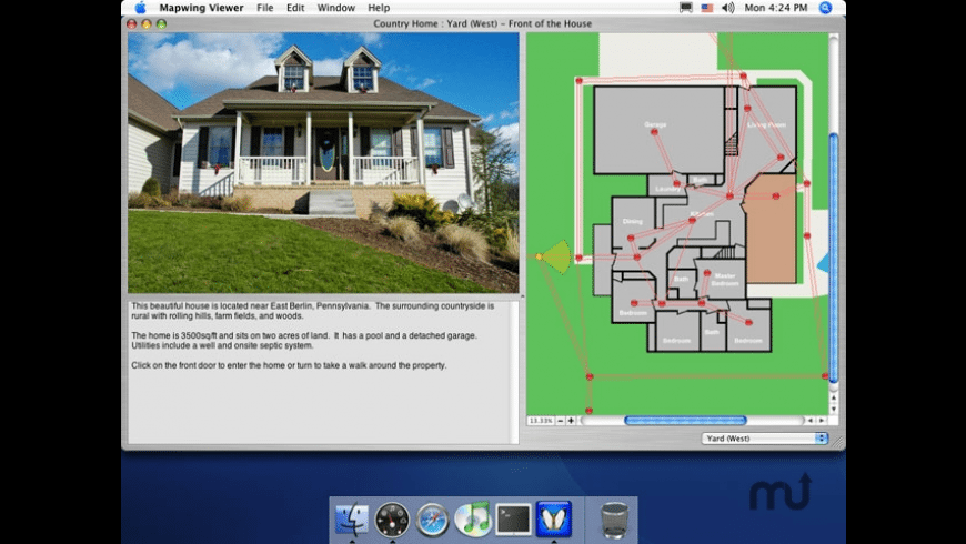 Mapwing Viewer for Mac - review, screenshots