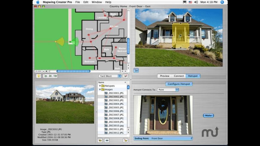 Mapwing Creator Pro for Mac - review, screenshots