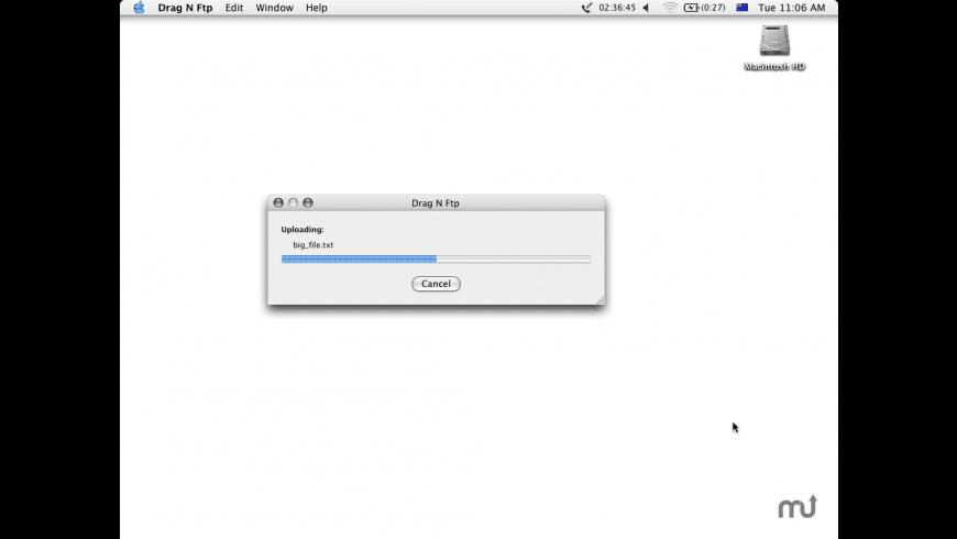 Drag N Ftp for Mac - review, screenshots