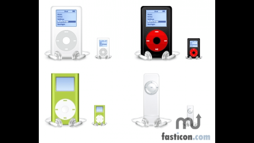 iPod Icons for Mac - review, screenshots