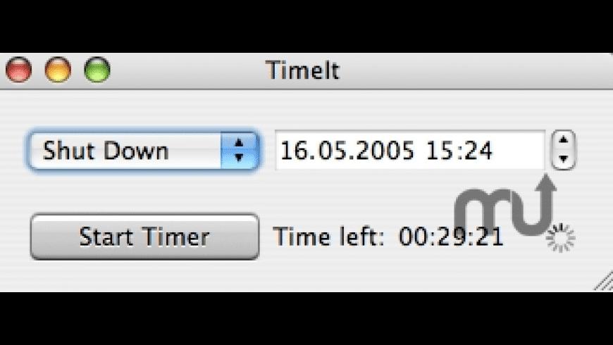 TimeIt for Mac - review, screenshots