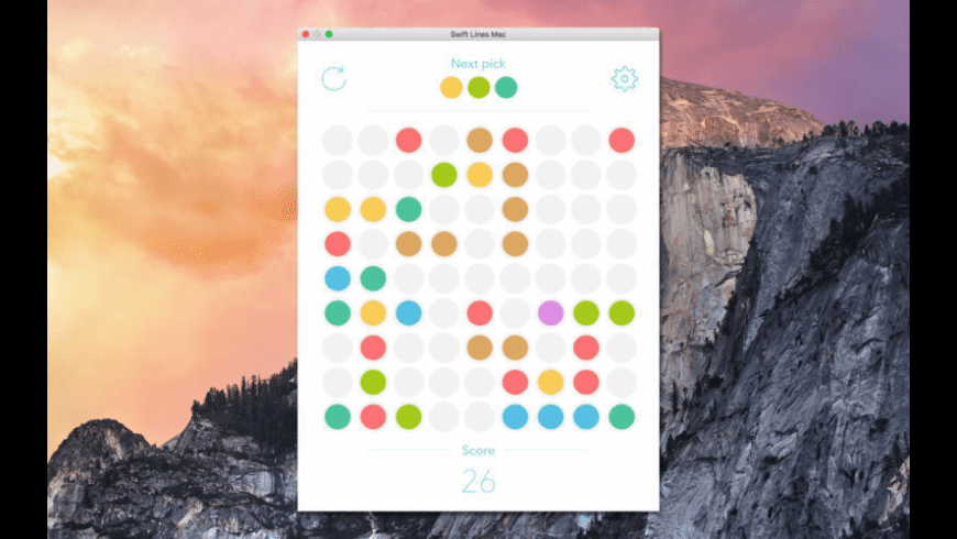 Color Lines for Mac - review, screenshots