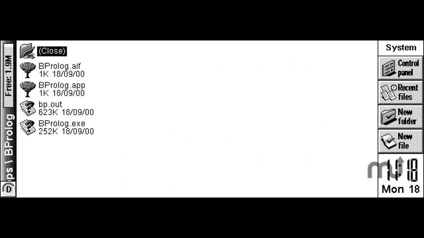 B-Prolog for Mac - review, screenshots