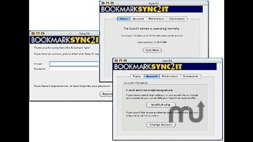 Sync2It's BookmarkSync for Mac - review, screenshots