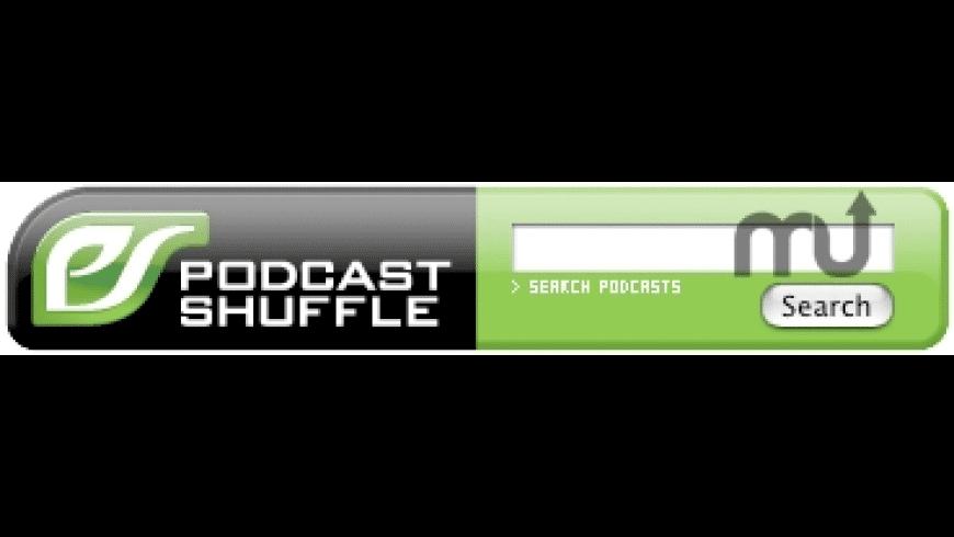 Podcast Shuffle Search Widget for Mac - review, screenshots