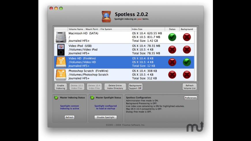 Spotless for Mac - review, screenshots