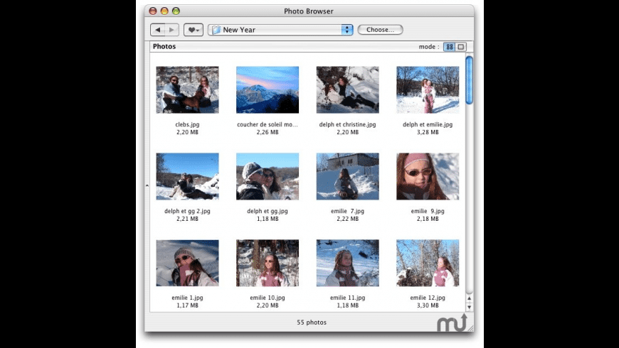 PhotoBrowser for Mac - review, screenshots