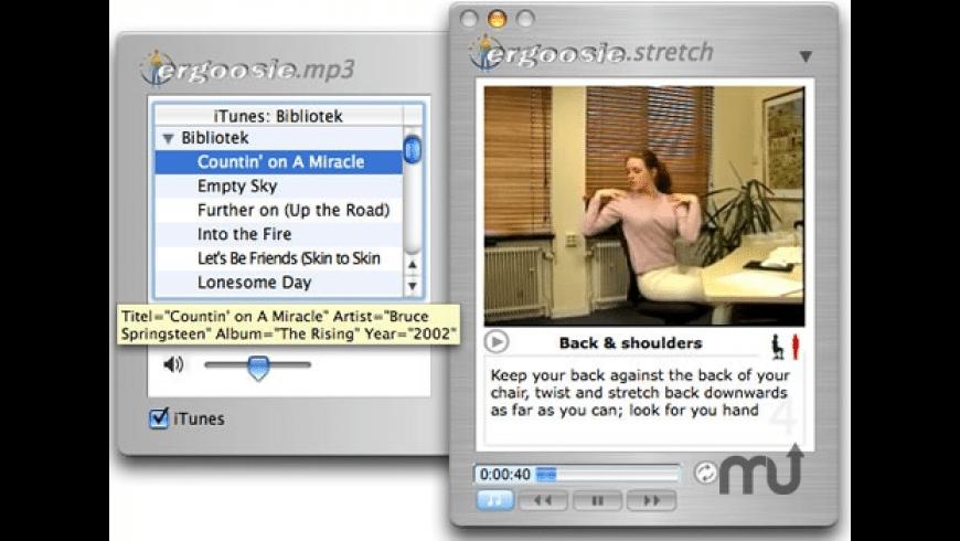 Ergoosie-X for Mac - review, screenshots