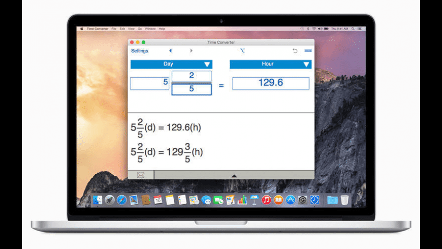 Time Converter for Mac - review, screenshots