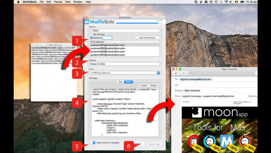 MailToBotic for Mac - review, screenshots