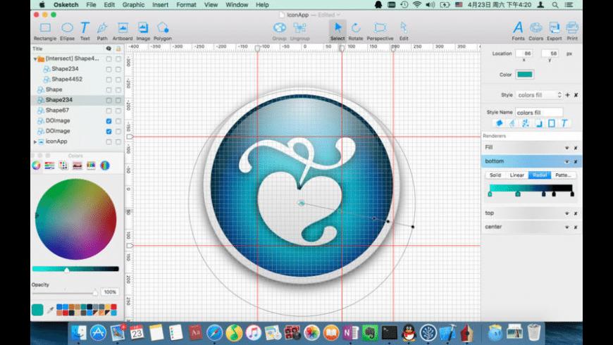 Osketch for Mac - review, screenshots