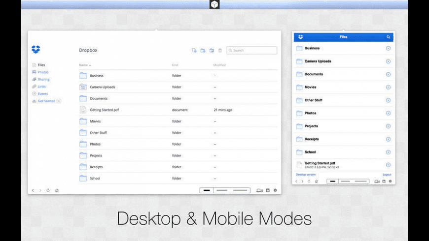 iDownload for Dropbox for Mac - review, screenshots