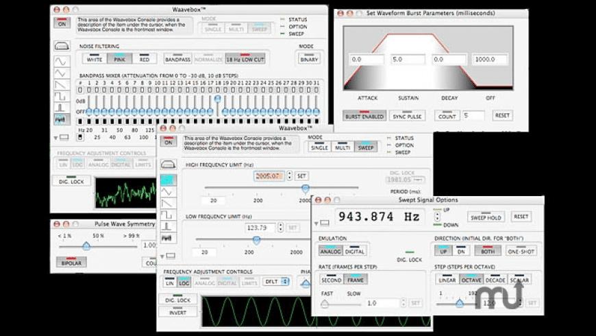 Waavebox Lite for Mac - review, screenshots