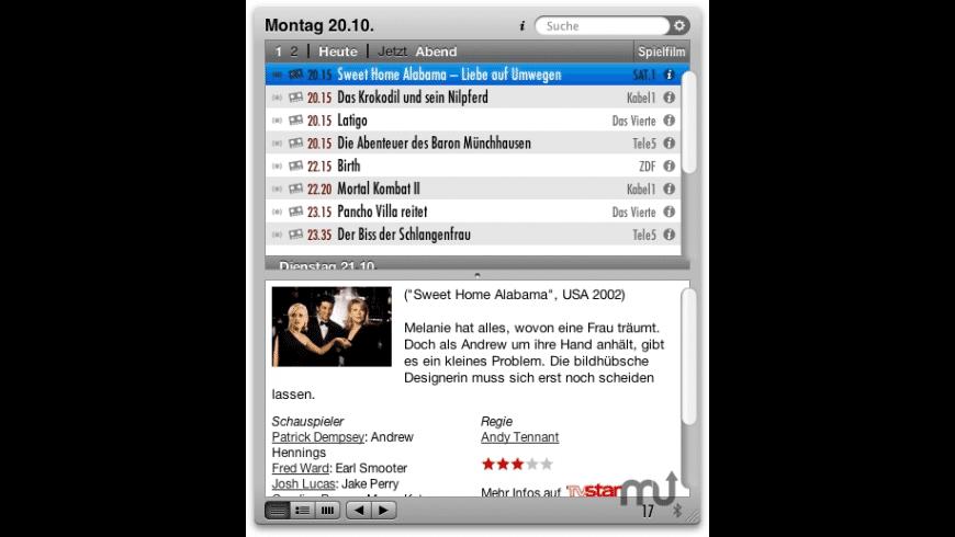Fernsehen for Mac - review, screenshots