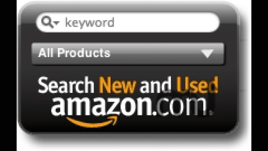 Amazon Search for Mac - review, screenshots