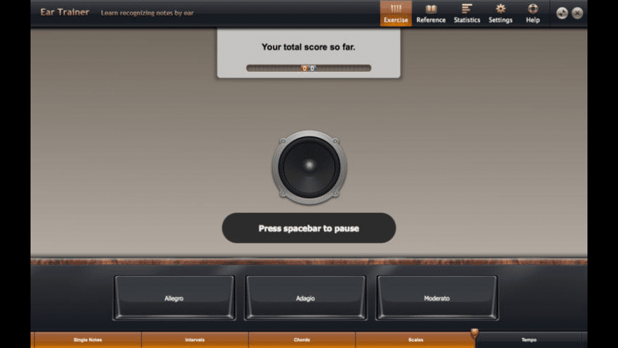 Ear Trainer for Mac - review, screenshots