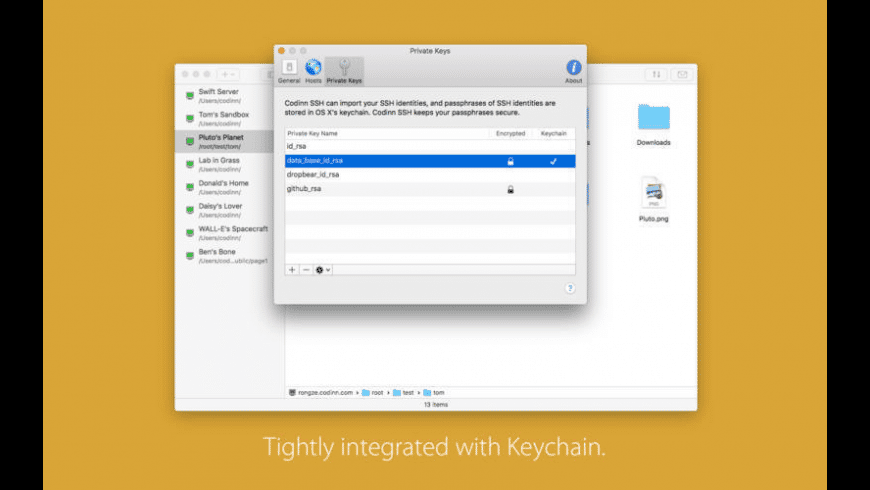 SSH Copy for Mac - review, screenshots