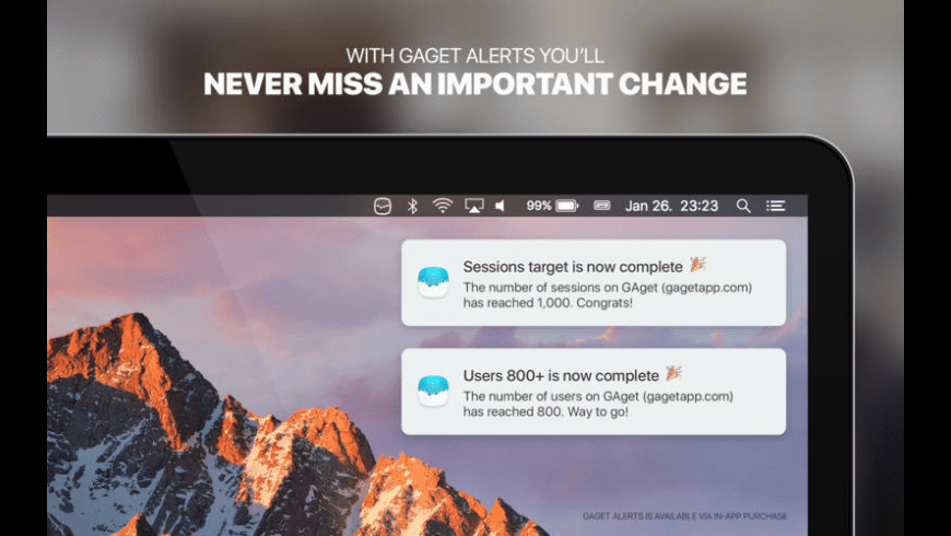 GAget for Mac - review, screenshots