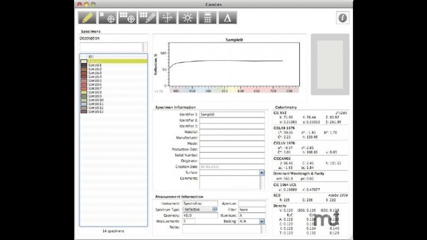 SpectraShop for Mac - review, screenshots