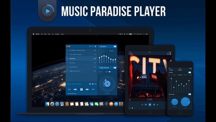 Music Paradise Player HQ for Mac - review, screenshots