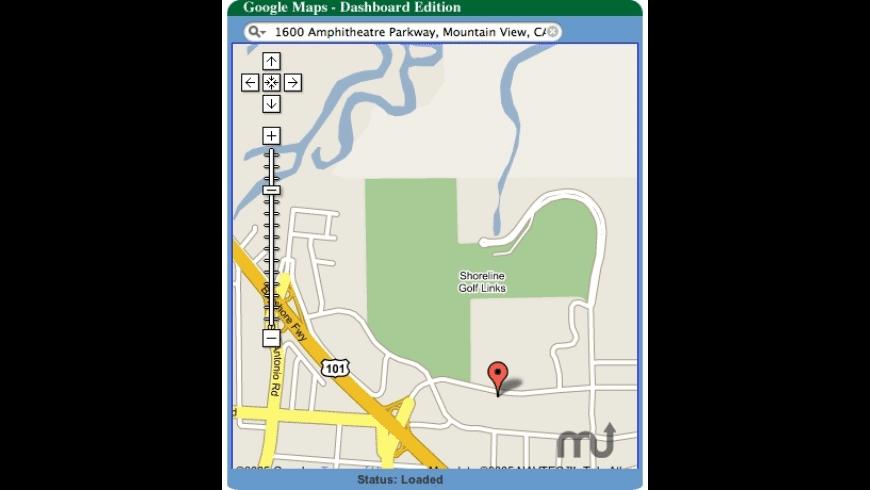 Google Maps Widget (unofficial) for Mac - review, screenshots