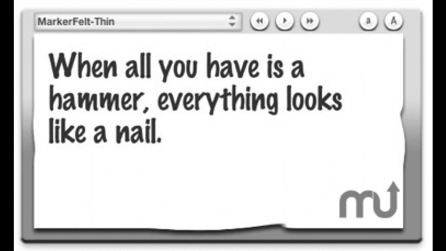 FontSee for Mac - review, screenshots