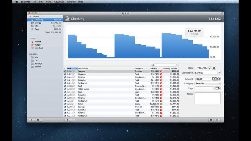 Squirrel for Mac - review, screenshots